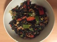魷魚黑米麵