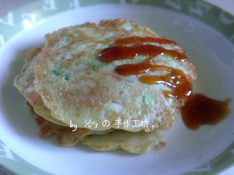 瓠瓜芝麻煎餅