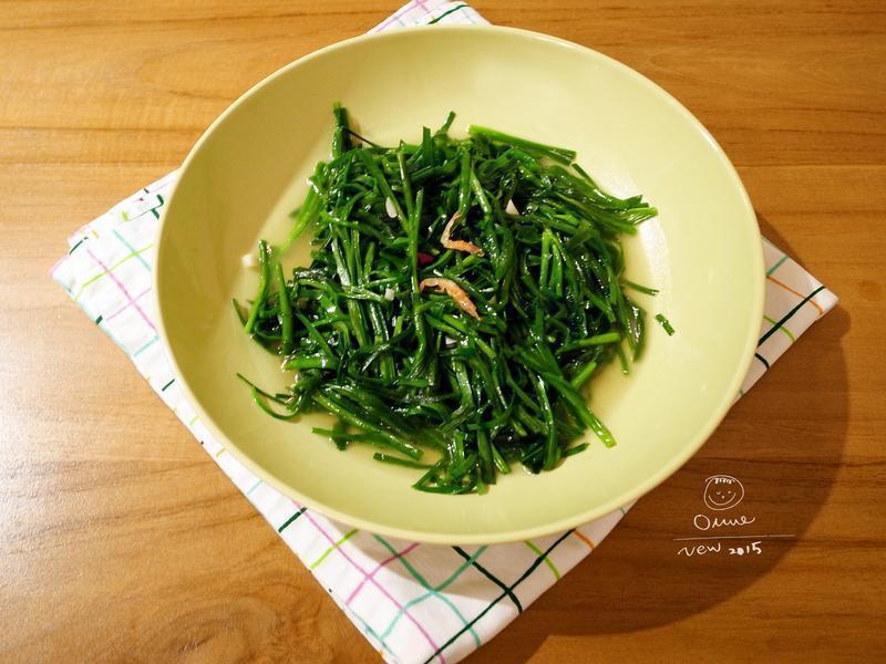 櫻花蝦韭菜