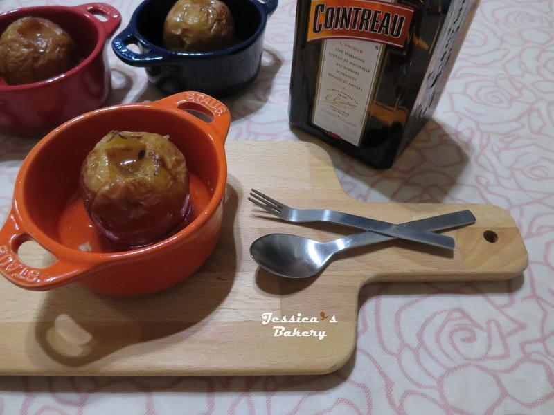 肉桂奶油烤蘋果