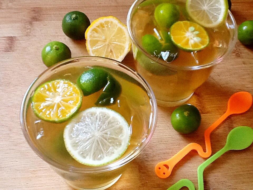 金桔檸檬愛玉