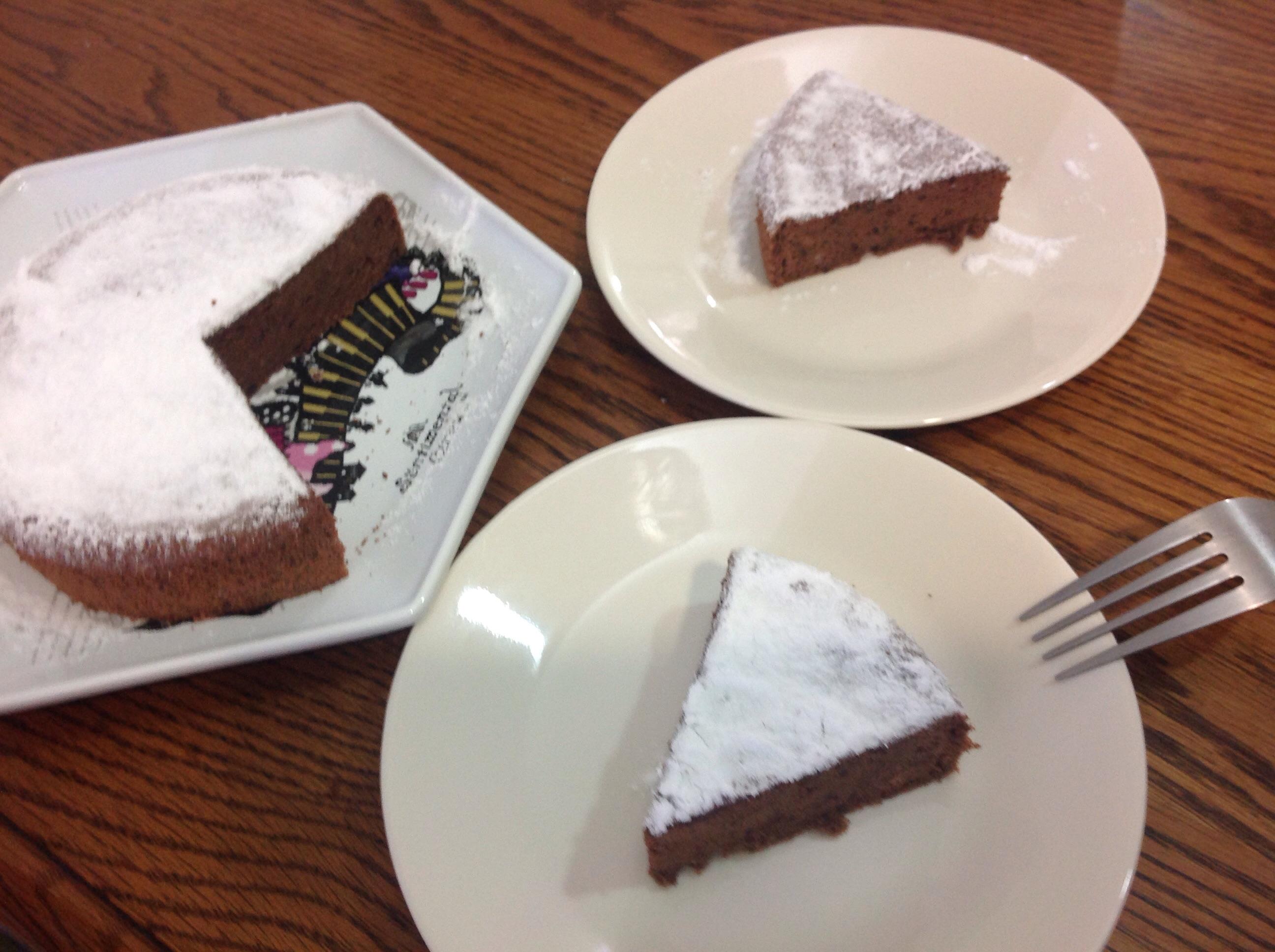 古典巧克力戚風蛋糕