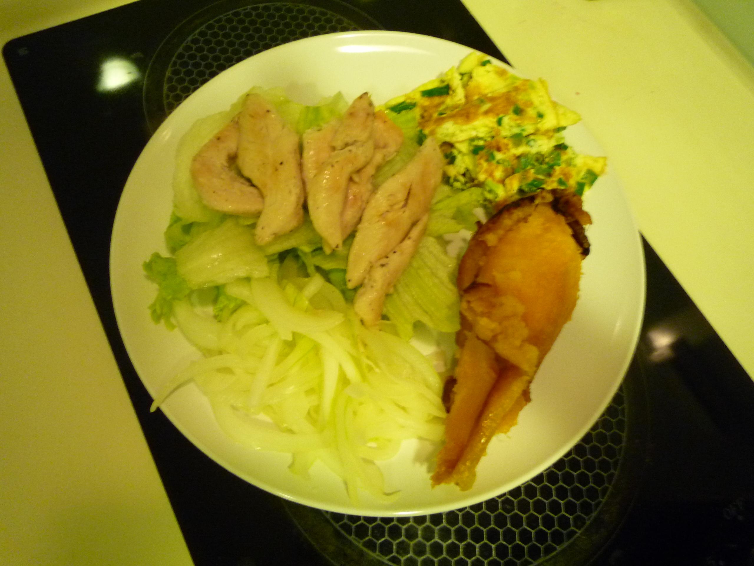 夏天健康好料理*清爽低卡雞肉沙拉