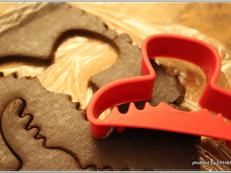 麋鹿造型巧克力餅乾