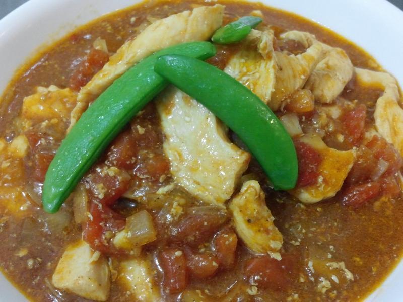 蕃茄瑪撒拉香料雞