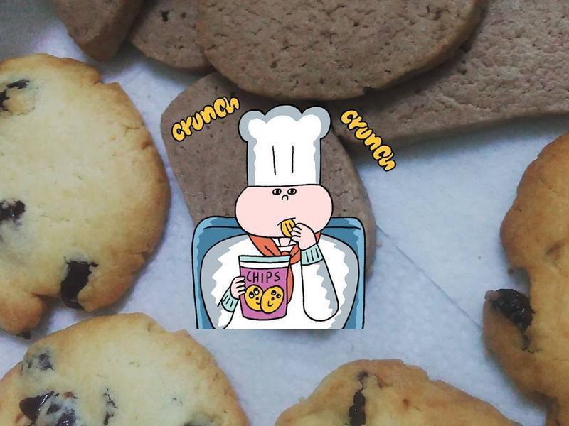 簡單小烤箱餅乾(米杯比例版)