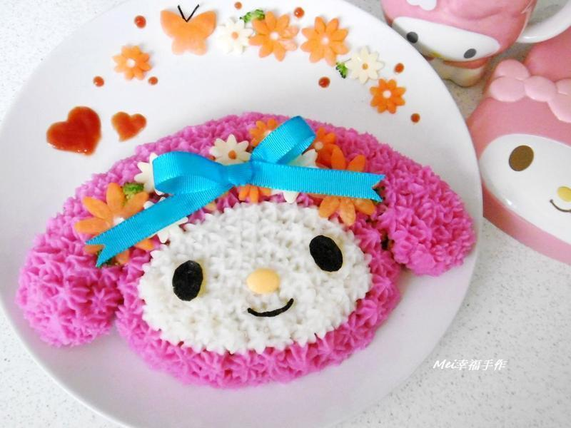 【親子食堂】將炒飯變好吃之美樂蒂蛋糕飯飯
