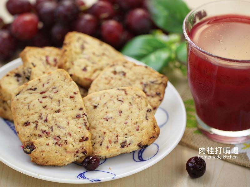 葡萄蔓越莓汁+葡萄蔓越莓餅乾-慢磨蔬果