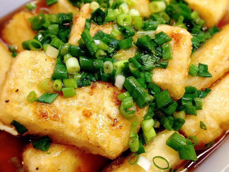 簡單! 和風揚出豆腐