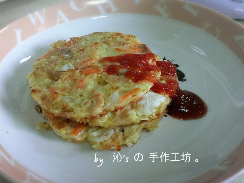 鮪魚高麗菜煎餅