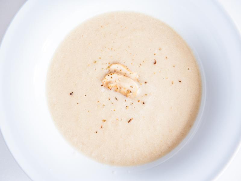 忌廉蘑菇湯