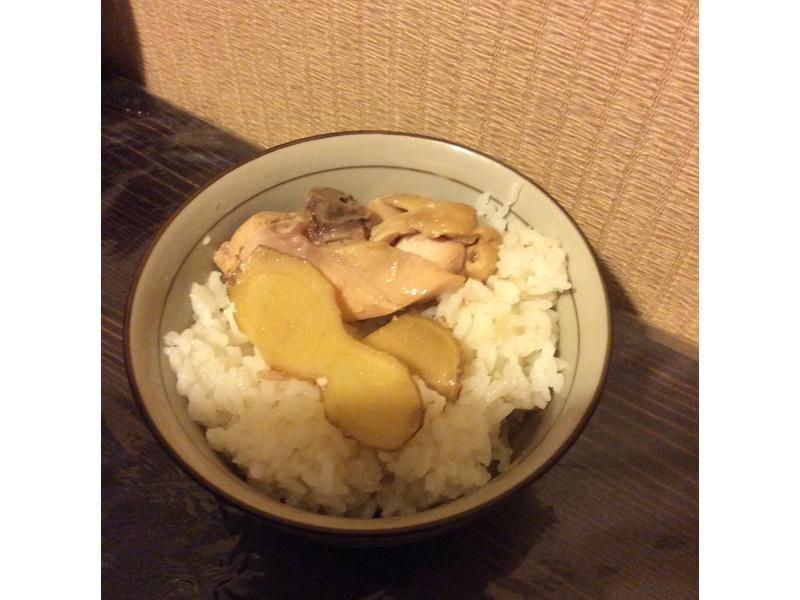 秋天好味道~薑汁雞肉《超簡單電鍋料理》