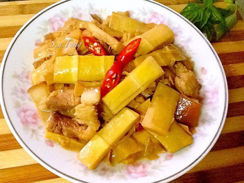 桂竹筍燒肉