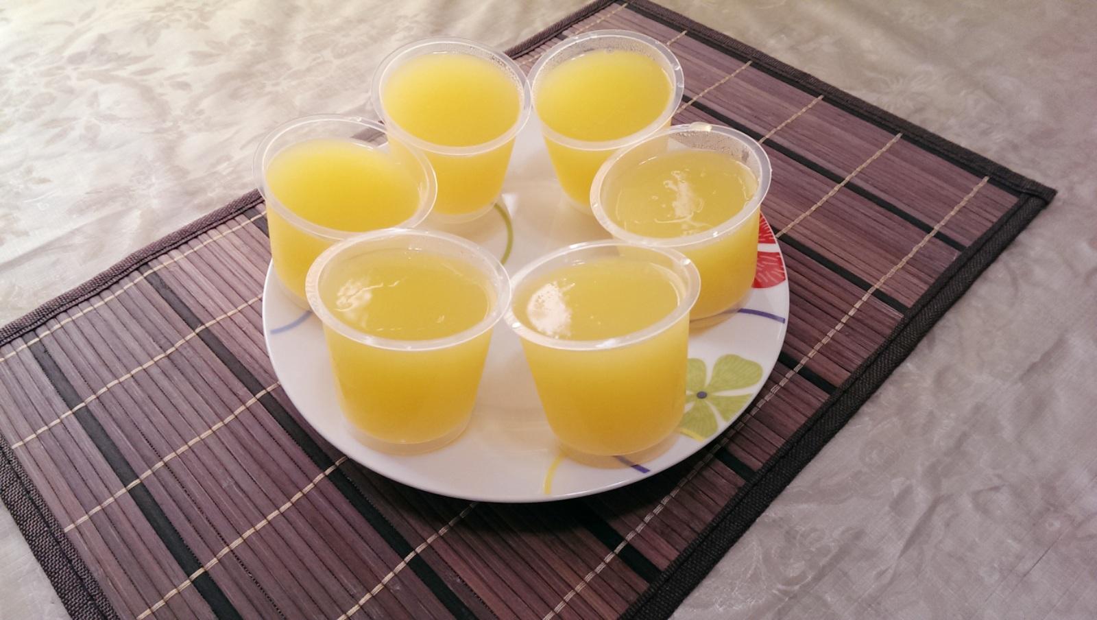 芒果洋菜果凍
