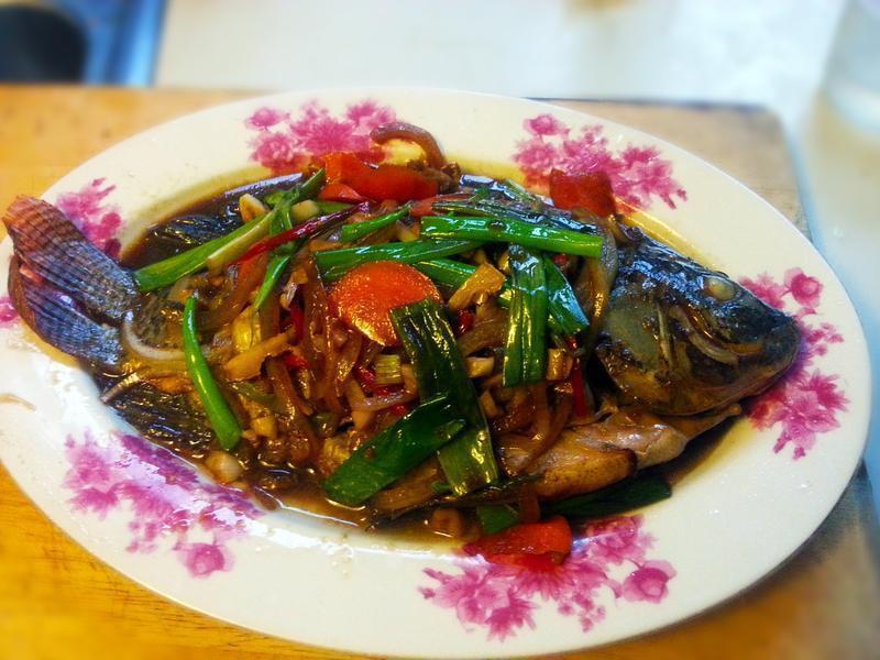 紅燒吳郭魚(台灣鯛)