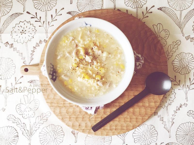 _ 中式雞粒玉米濃湯