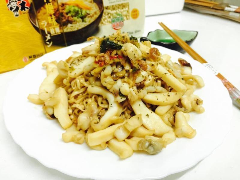辣花枝煲麵【五木拉麵】