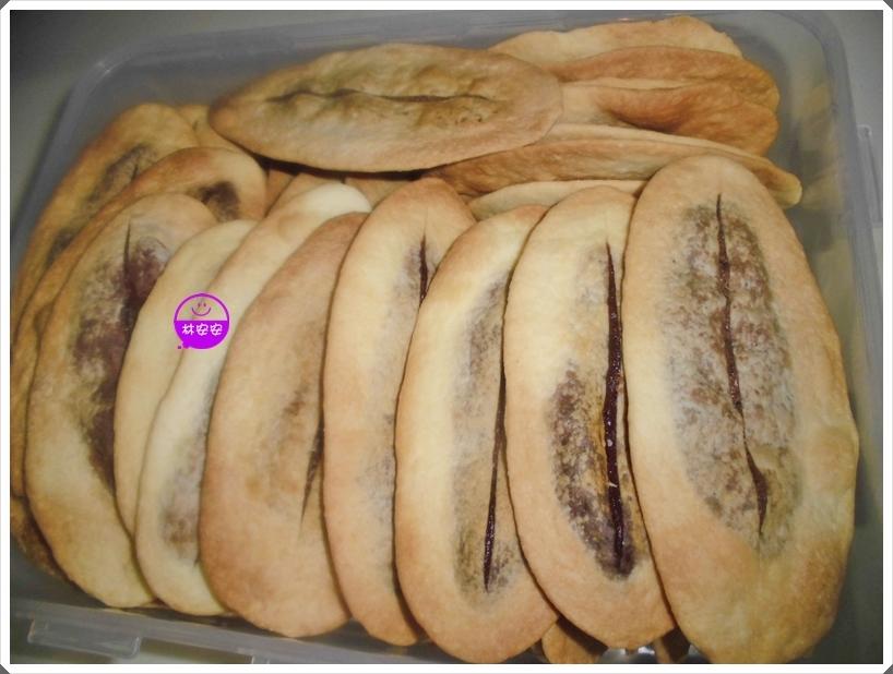 黑芝麻粉牛舌餅(原味、黑糖)