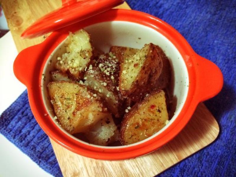香草烤馬鈴薯