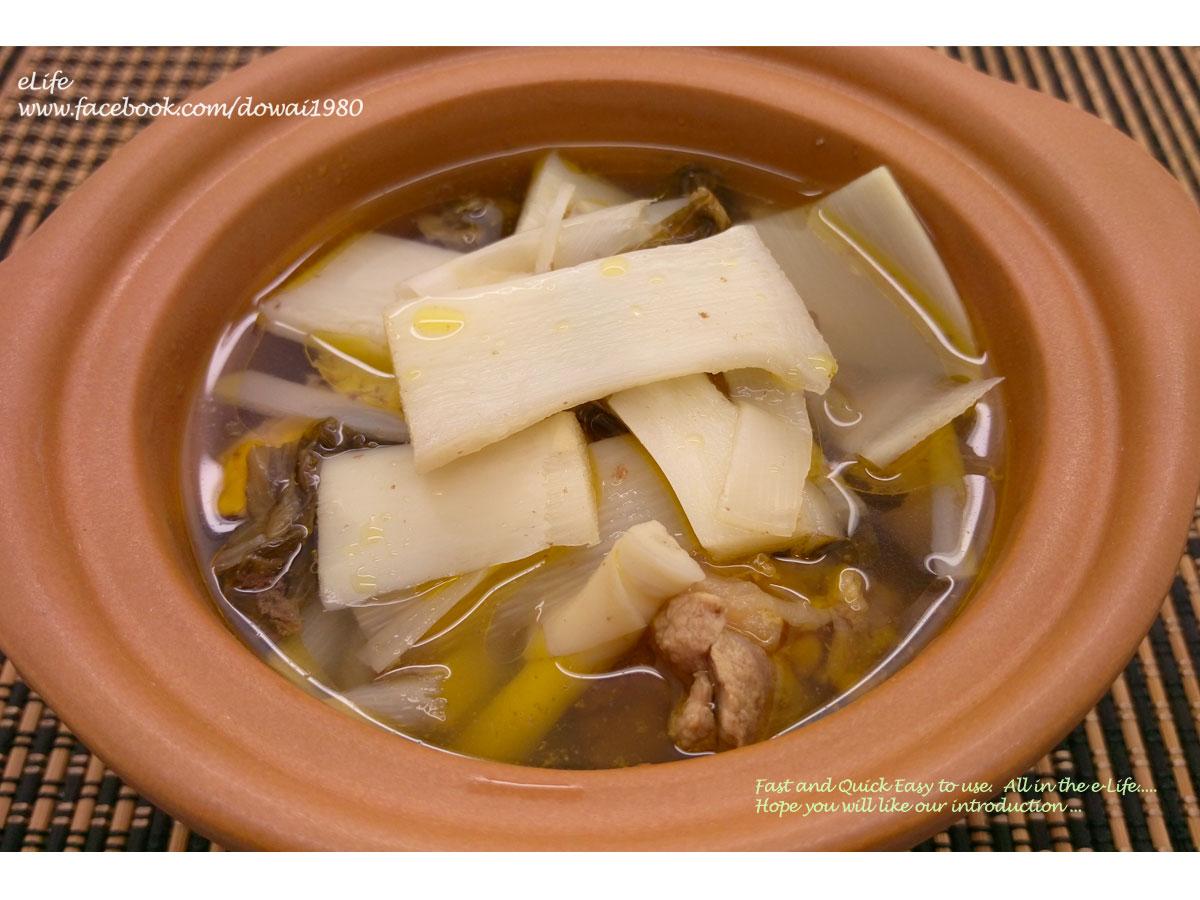 【客家料理】脆筍福菜雞
