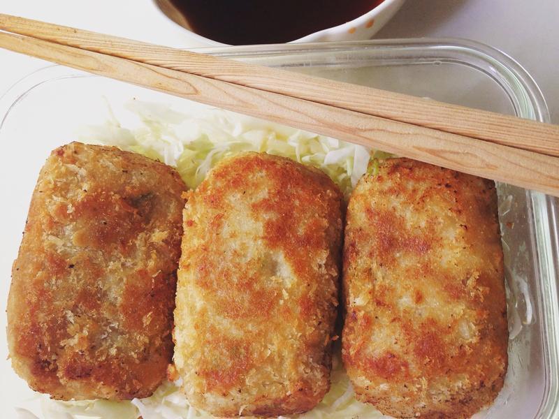 日式豬肉可樂餅