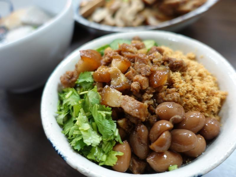 肉燥料理-台南米糕