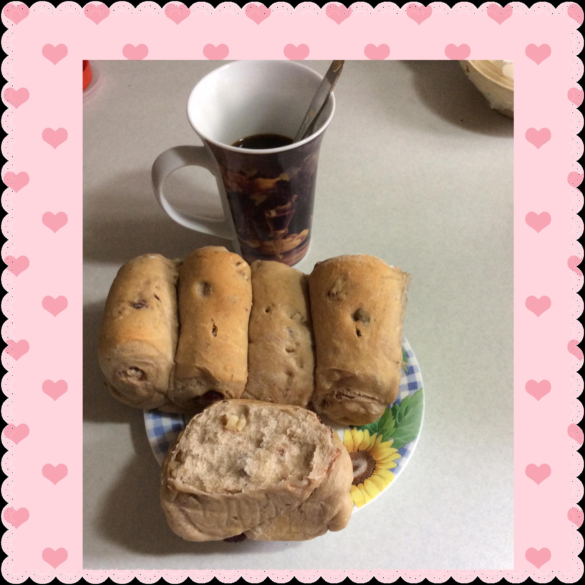 手工歐式麵包~蔓越莓堅果
