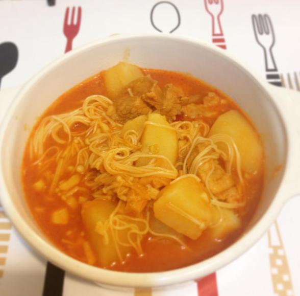 韓式馬鈴薯燉肉