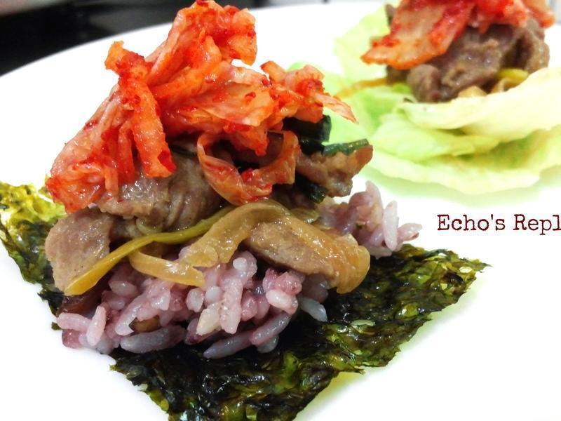 家常韓式烤肉-- 一菜多吃