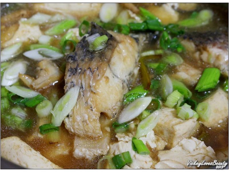 薑蔥海鱸豆腐煲