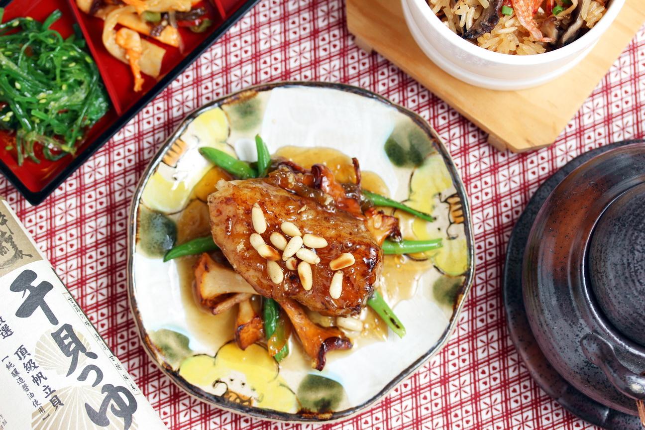 柚香醬煮鱈魚排_淬釀懷石的秋季