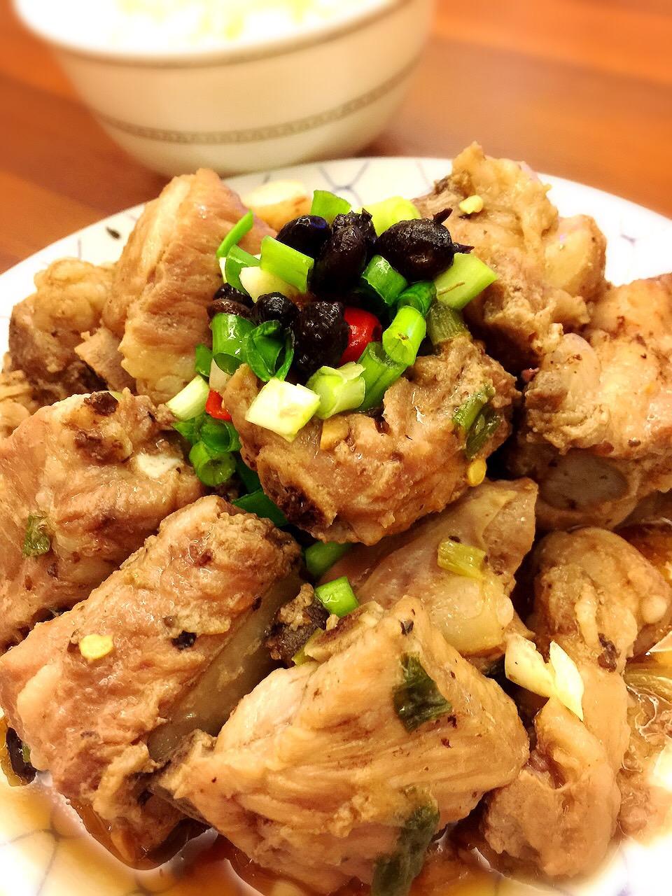 豆鼓排骨(電鍋簡易3步驟)超下飯家常菜