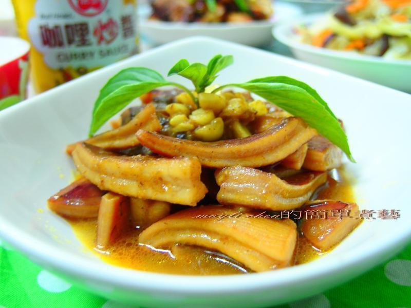 咖哩沙茶魷魚『牛頭牌咖哩新食代』