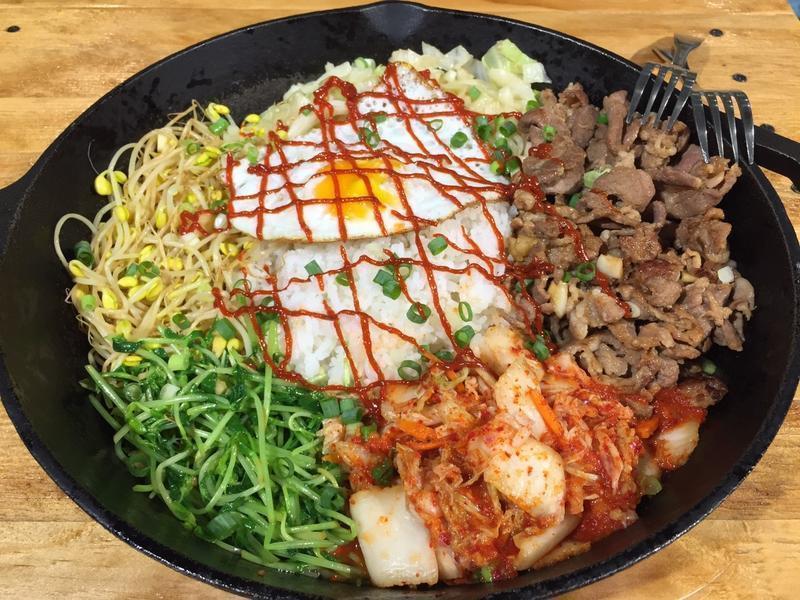 大滿足韓式燒肉拌飯【法蘭克肉舖子】