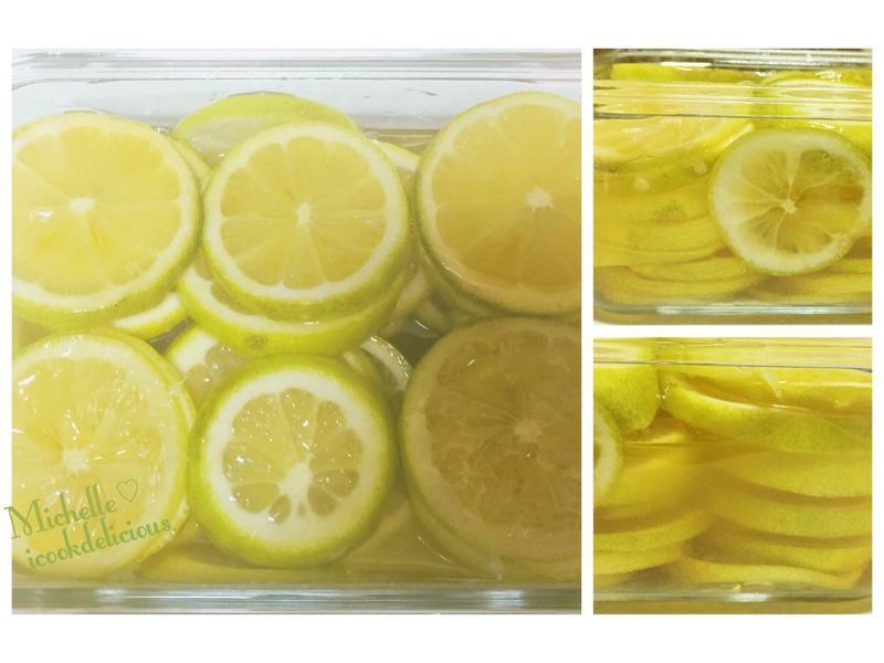蜂蜜檸檬漬