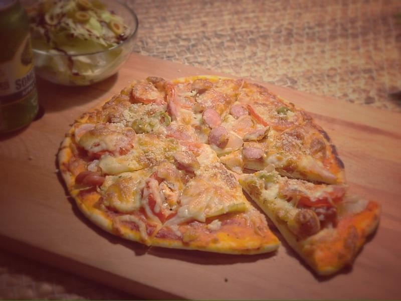義式香腸比薩 sausage pizza