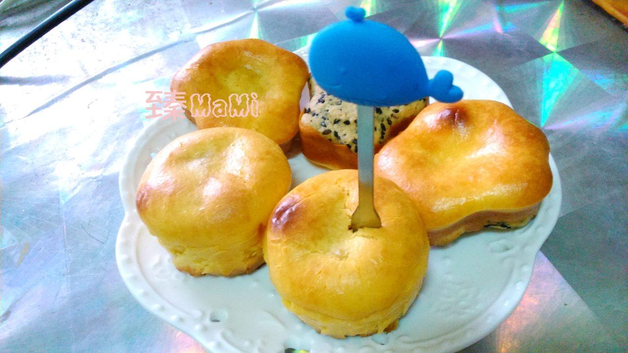 陽光乳酪球(自製芝麻餅乾底)