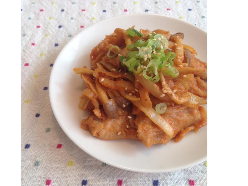 KURI's│韓式辣炒豬肉
