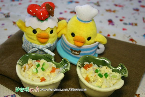 素食副食品分享-番茄豆包粥
