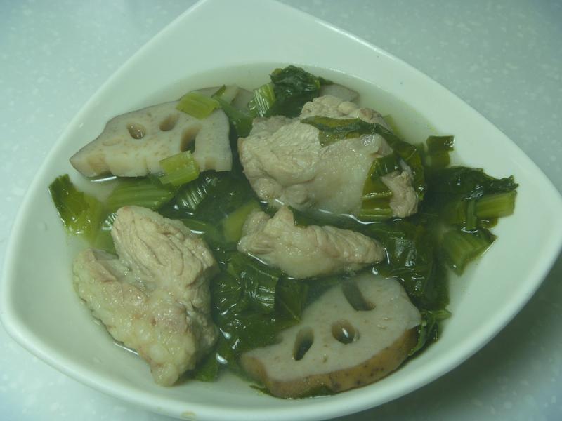 雪菜蓮藕排骨湯
