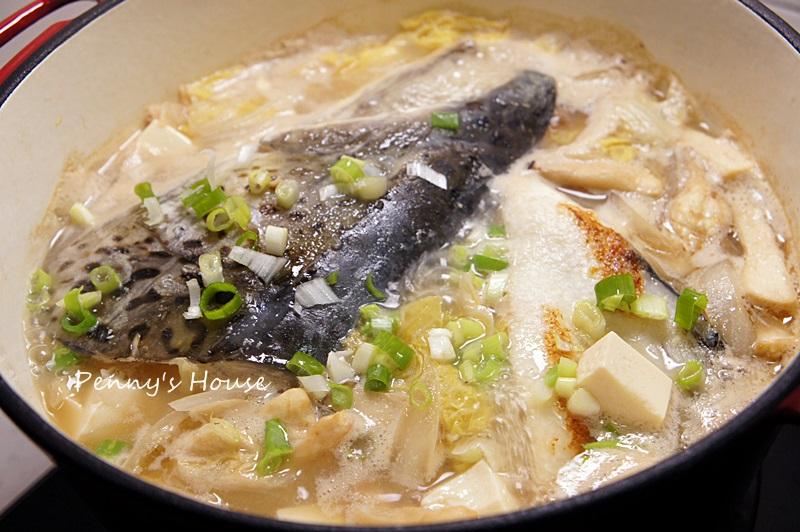 白菜鮭魚味噌湯 - 【鮮之流】