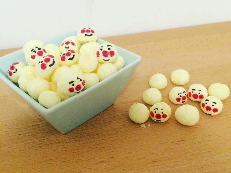 小北鼻副食品-麵包超人的蛋黃小饅頭