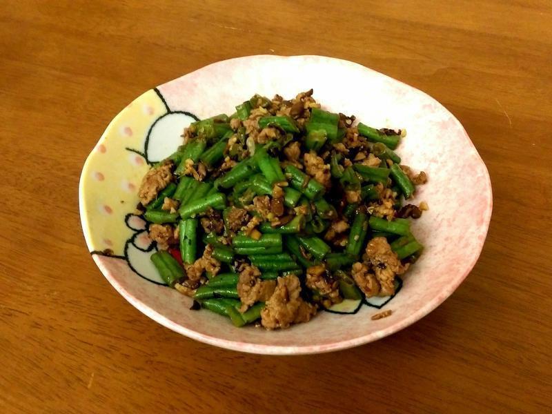 👍豆豉肉末炒四季豆/豆角👍快捷上菜