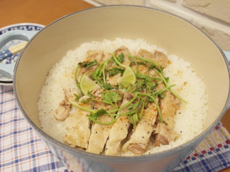 海南雞飯 - 每顆飯粒都好濃郁!