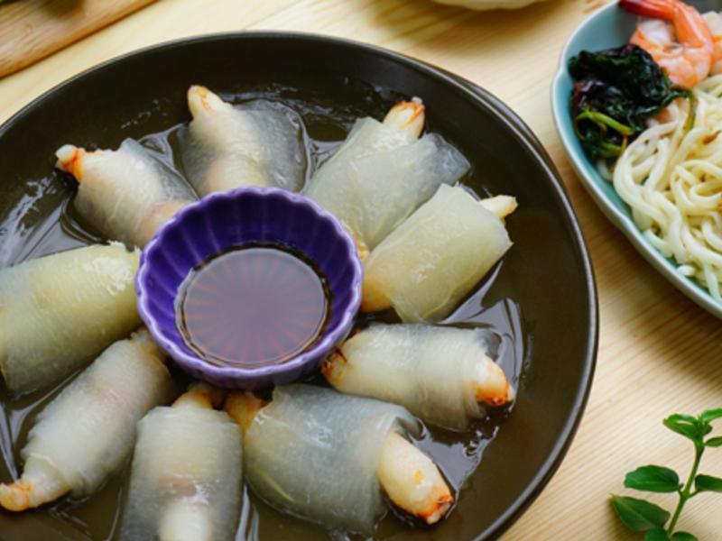【卷料理】蟹肉白玉卷