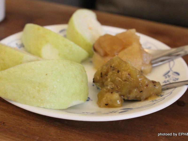 鑄鐵鍋煮奇異果香蕉果醬