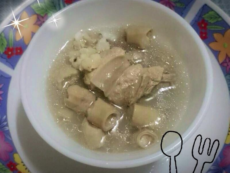 ◆ Ivy開心廚房◆ 四神排骨腸子湯