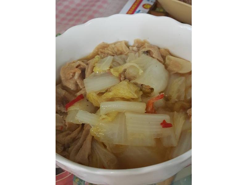 燉鍋,白菜魯