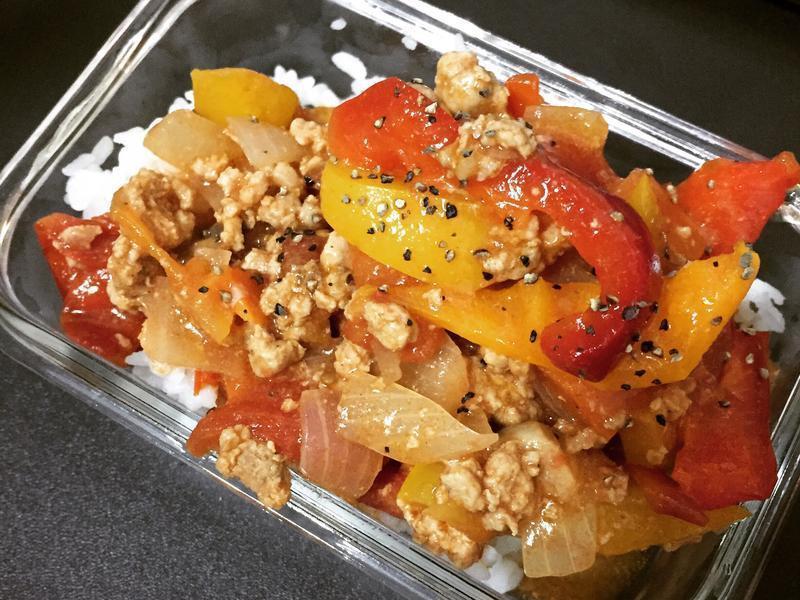 超簡單番茄肉醬飯or麵