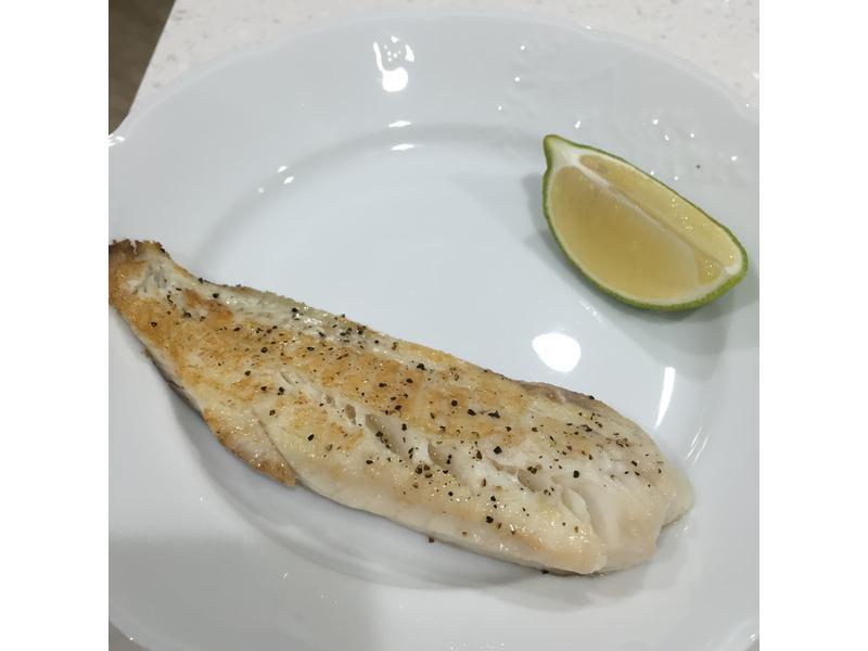 [減肥食譜] 簡單鮮甜!香煎鯛魚